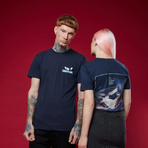 Camiseta Gremlins - Azul marino