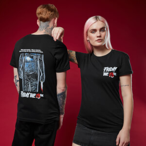 Friday 13th t-shirt - Zwart