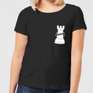 Hold Fast Pocket Print Women's T-Shirt - Black
