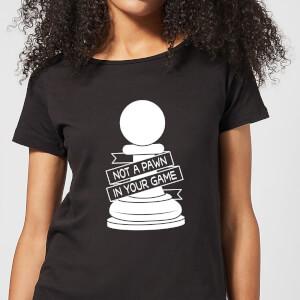 Pawn Chess Piece Women's T-Shirt - Black