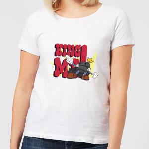 King Me! Checker King Women's T-Shirt - White