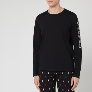 Polo Ralph Lauren Men's Long Sleeve Crew-Sleep Top - Polo Black