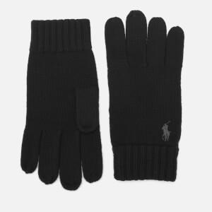 Polo Ralph Lauren Men's Merino Gloves - Polo Black