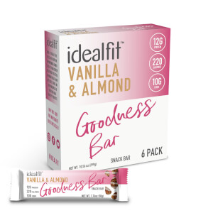 IdealFit Goodness Bar - Vanilla Almond - Box of 6