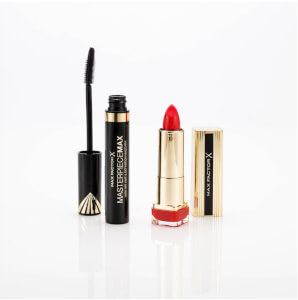 Max Factor Lips & Lashes Signature Duo Gift Set (Worth £21.00)
