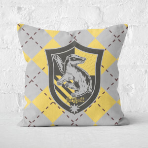 Cuscino Quadrato Harry Potter Tassorosso (Hufflepuff)
