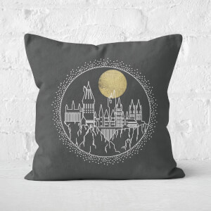 Cuscino Quadrato Harry Potter Castello di Hogwarts