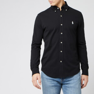 Polo Ralph Lauren Men's Long Sleeve Polo - Polo Black