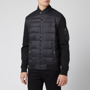 Polo Ralph Lauren Men's Multi Knit Down Jacket - Polo Black