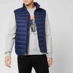 Polo Ralph Lauren Men's Packable Down Vest - Navy