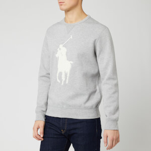 Polo Ralph Lauren Men's Tonal Big Sweatshirt - Grey