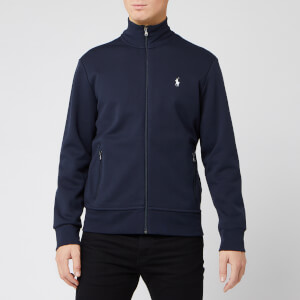 Polo Ralph Lauren Men's Full Zip Mock Neck Sweatshirt - Aviator Navy