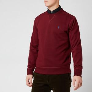Polo Ralph Lauren Men's Basic Crew Sweatshirt - Classic Wine