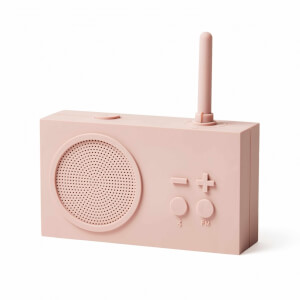 Lexon TYKHO 3 FM Radio and Bluetooth Speaker - Pink