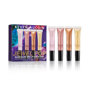 Kevyn Aucoin JEWELPOP Glass Glow Mini Lip Collection 3 oz (Worth $86)