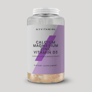 Myprotein Calcium & Magnesium + Zinc, & Vitamin D3 Softgels (USA)