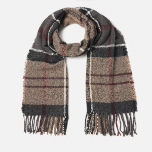 Barbour Women's Tartan Boucle Scarf - Winter Dress