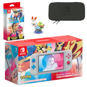 Nintendo Switch Lite Pokémon Sword and Pokémon Shield Pack