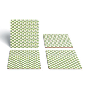 Cooking Broccoli Pattern Coaster Set