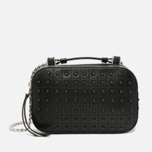 Tod's Women's Gommino Chain Cross Body Bag - Black