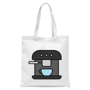 Cooking Coffee Machine Tote Bag