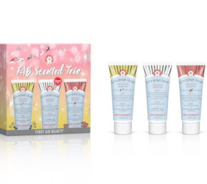 First Aid Beauty Scented Trio (Worth $36.00)