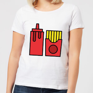 Cooking Ketchup And Fries Women's T-Shirt