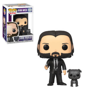 John Wick with Dog Funko Pop! Figuur