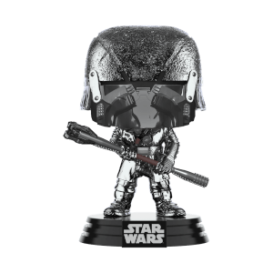 Star Wars: Rise of the Skywalker Knights of Ren Club (Hematite Chrome) Funko Pop! Figuur