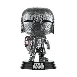 Star Wars: Rise of the Skywalker Knights of Ren Cannon (Hematite Chrome) Funko Pop! Figuur