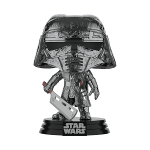 Star Wars: Rise of the Skywalker Knights of Ren Blade (Hematite Chrome) Funko Pop! Figuur
