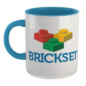 Brickset Logo Mug - White/Blue