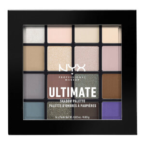 NYX Professional Makeup Ultimate Eye Shadow Palette - Cool Neutrals 101.6g
