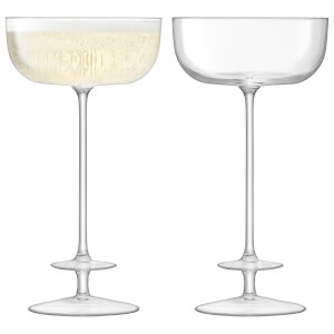 LSA Champagne Theatre Champagne Saucer - 210ml (Set of 2)