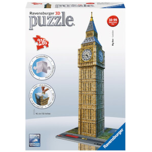 Ravensburger Big Ben 3D Jigsaw Puzzle (216 Pieces)
