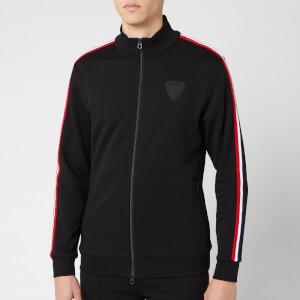 Rossignol Men's Track Suit Sweat Zip Sweat - Black