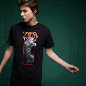 Legend Of Zelda Link Bow T-Shirt - Black