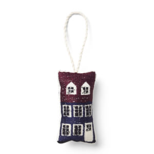 Ferm Living Copenhagen Embroidered Decoration - Nyhavn