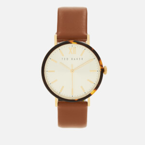 Ted Baker Women's Phylipa Watch - Tan