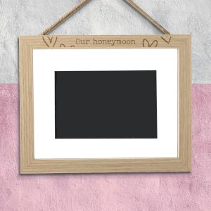 Our Honeymoon Landscape Frame