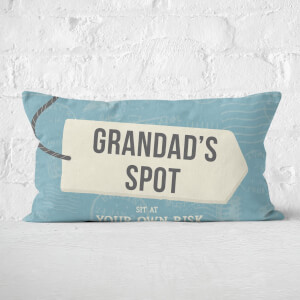 Grandad's Spot Rectangular Cushion