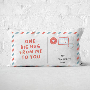 To My Favourite Son Rectangular Cushion