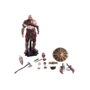 Statuetta deluxe 1:6 di Kratos, da God Of War - Mondo