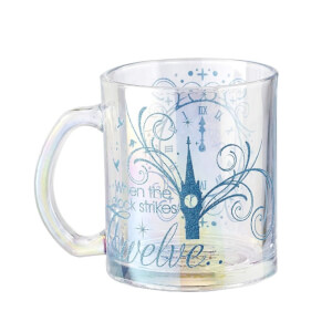 Funko Homeware Cinderella Platinum Anniversary: When the Clock Strikes Twelve Glass Mug