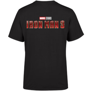 Marvel 10 Year Anniversary Iron Man 3 Men's T-Shirt - Black