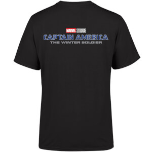 Marvel 10 Year Anniversary Captain America The Winter Soldier Men's T-Shirt - Black