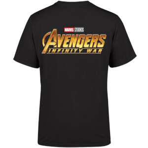 Marvel 10 Year Anniversary Avengers Infinity War Men's T-Shirt - Black