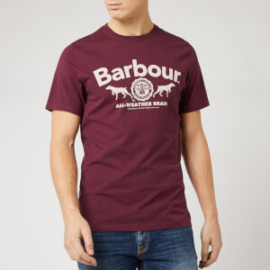 Barbour Men's Max Graphic T-Shirt - Merlot