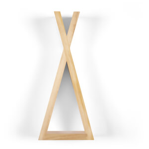 Snüz Teepee Shaped Nursery Shelf - Natural - Large
