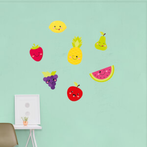 Kids Fruit Pack 2 Wall Art Sticker Pack